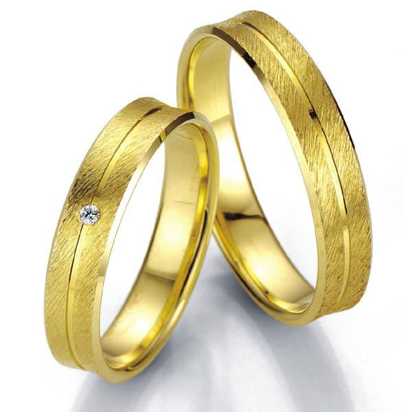 Breuning Trauringe Eheringe Gelbgold 07001 07002
