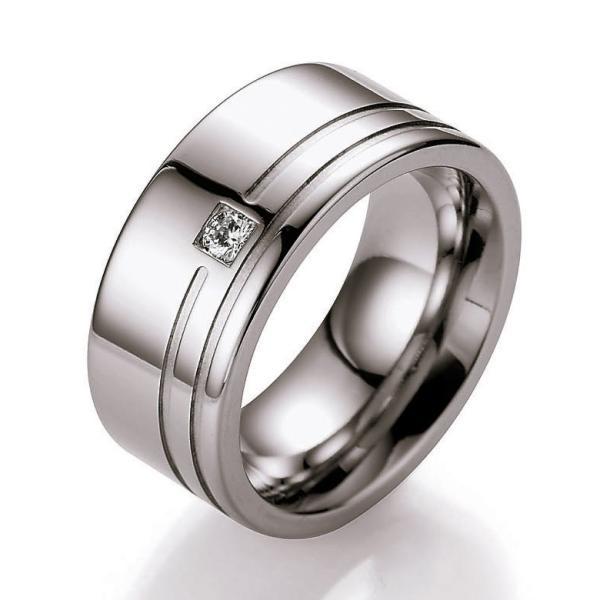 Collection Ruesch Ring Edelstahl 88/St151B