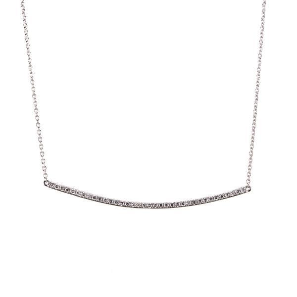 DiamondGroup Collier 18 kt Weißgold - 4A075W8-1