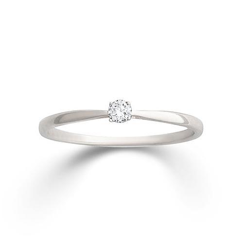Ring Weißgold 585 Brillant Palido K11701W