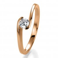 Breuning Bridal Antragsring Rotgold 41/05311