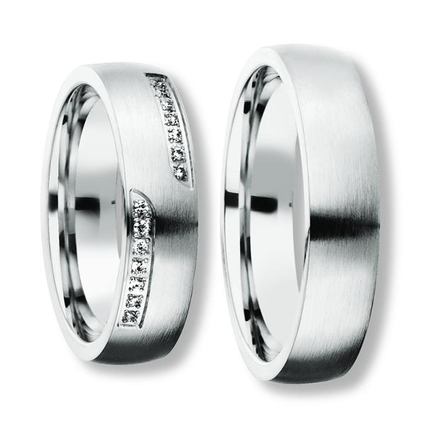 Freundschaftsringe Silber 925 Zirkonia Bedra 90050