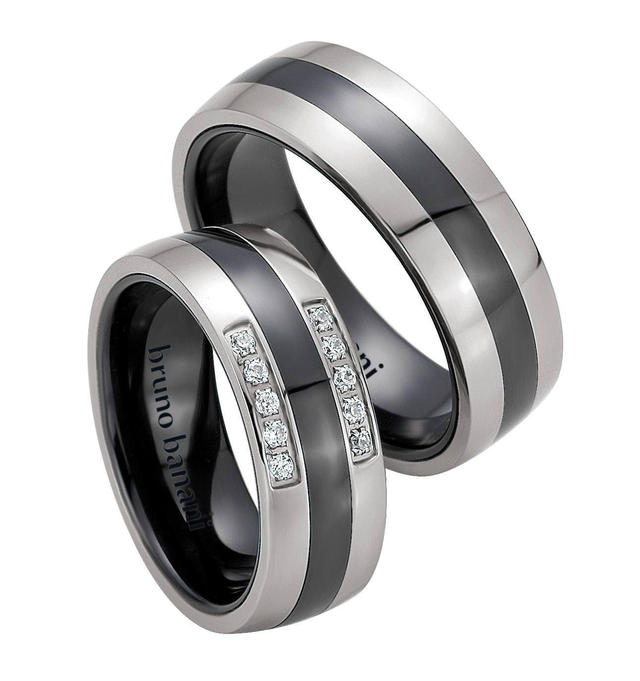 Bruno Banani Ceramic Ringe 44.84177 42.84177
