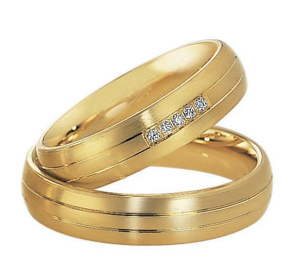 Trauringe Gelbgold Saint Maurice 49/82011 & 49/82010