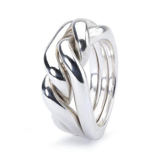 Trollbeads Ring Stärke, Mut und Weisheit TAGRI-00177
