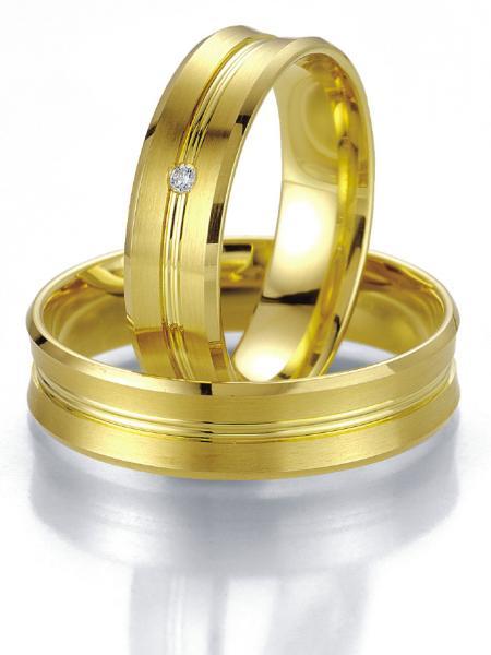 Breuning Trauringe Eheringe Gelbgold 07021 07022