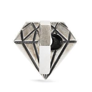 Trollbeads Ungeschliffener Diamant TAGBE-40039, 11472