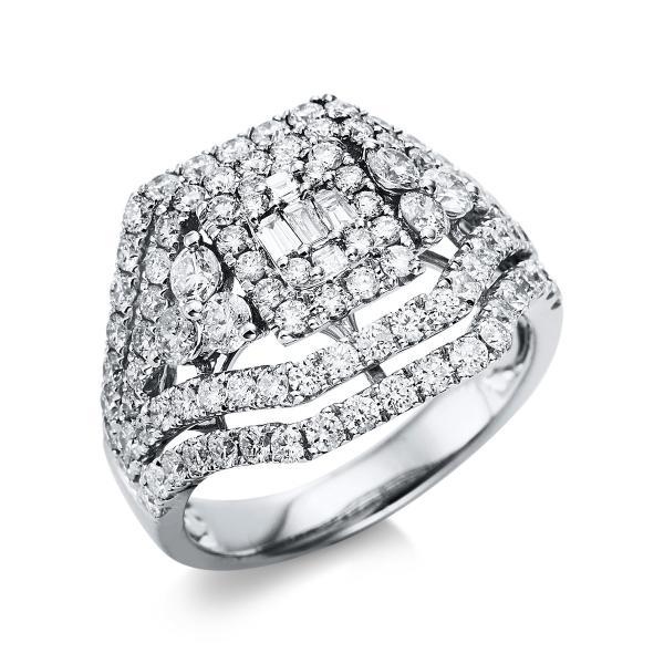 Ring 14 kt Weißgold - 1T657W454-1