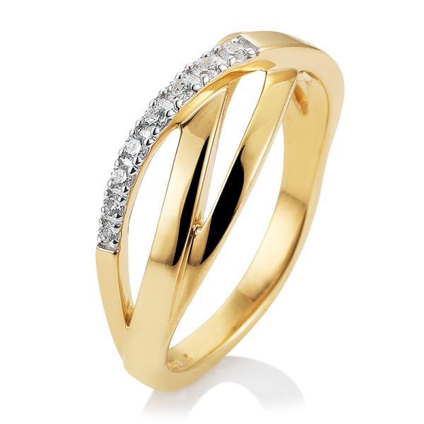 Breuning Ring Gelbgold Brillant 41/05699
