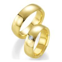 Breuning Trauringe Gelbgold 48/05227 & 48/05228