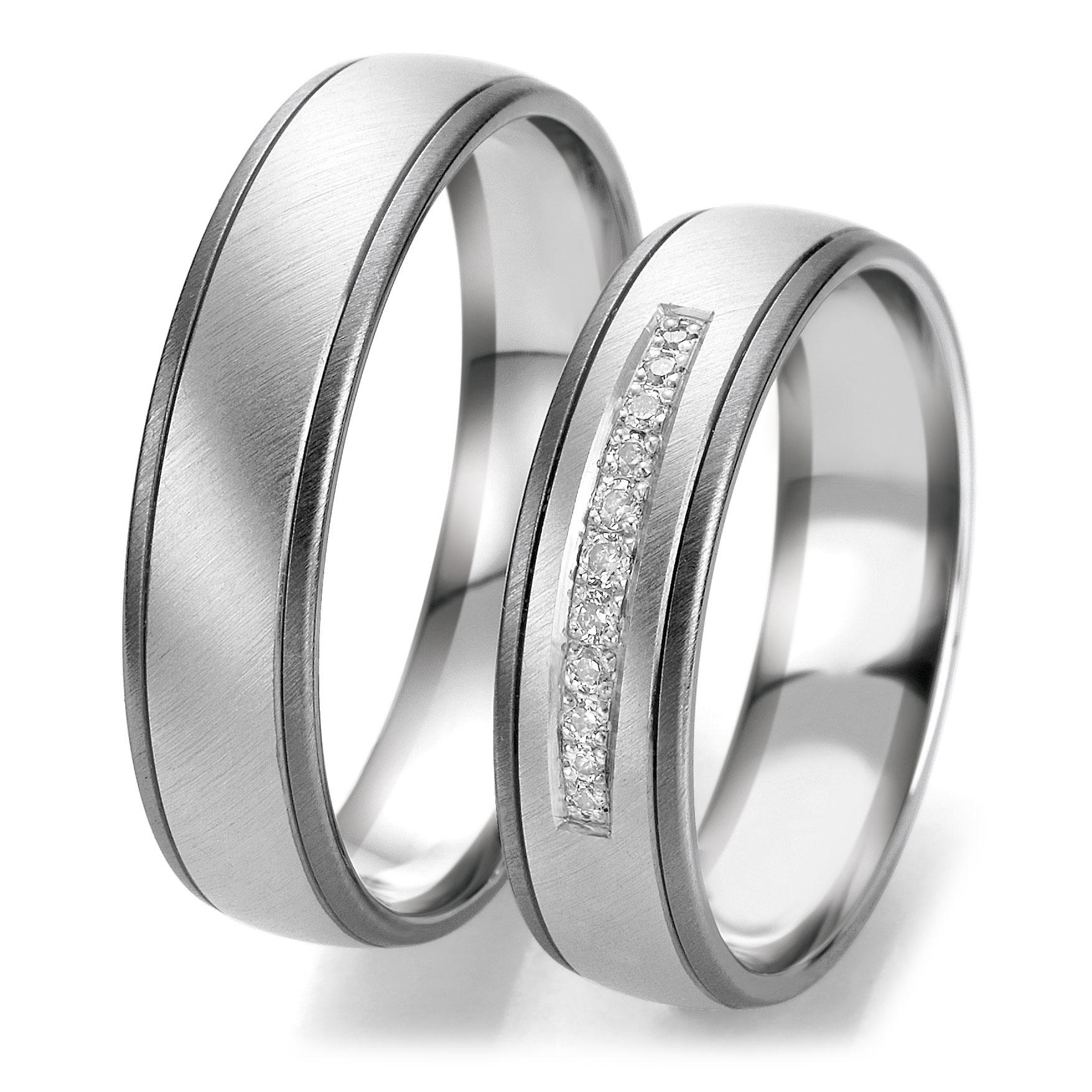 Кольца из белого золота фото 2