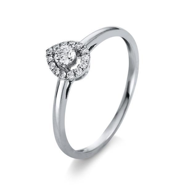 DiamondGroup Ring 18 kt Weißgold - 1S129W853-1