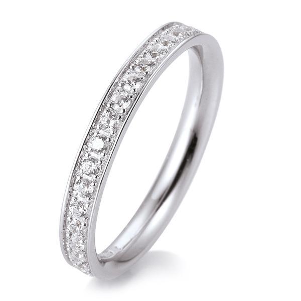 Breuning Memore Ring Weißgold 41/056590 - Diamantkranz