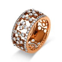 Ring 18 kt Rotgold - 1L565R858-1