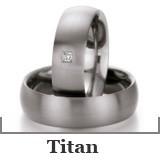 Freundschaftsringe Titan