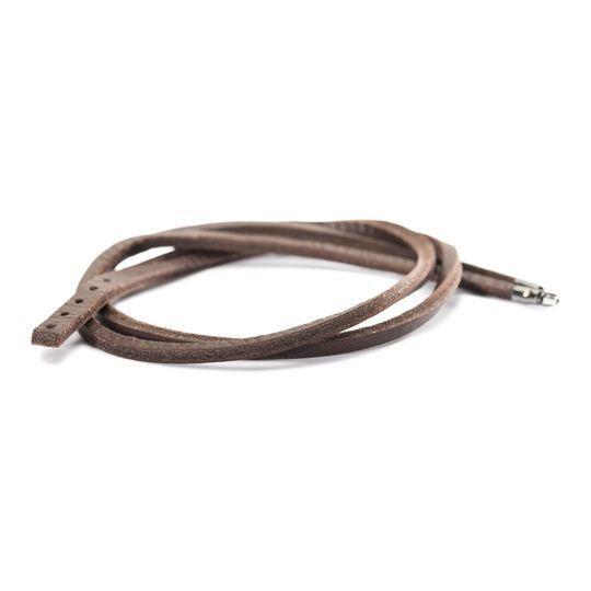 Trollbeads Armband Leder, Braun 45cm TLEBR-00006