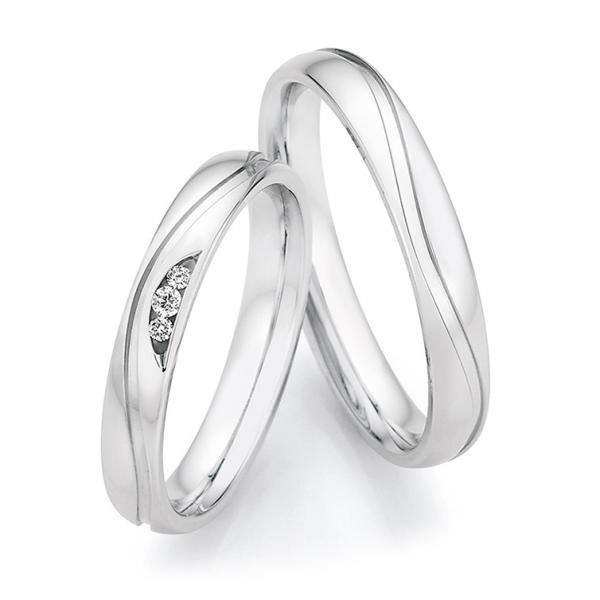 Eheringe Silber 925 Legends Ruesch 55/33150 & 55/33160