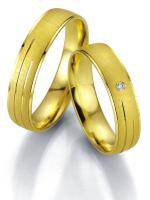 Breuning Trauringe Eheringe Gelbgold 07011 07012