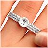 Ringweitenmesser für Trauringe und Eheringe sowie Verlobungsringe