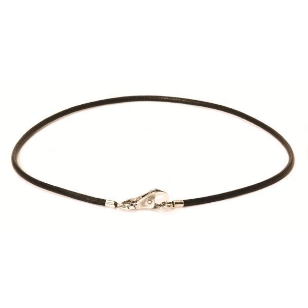 Trollbeads Leder Halskette schwarz 45 cm TLENE-00006, L3102xx