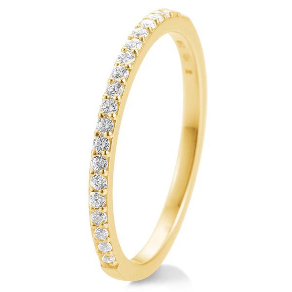 Breuning Memoire-Ring Gelbgold 585 Brillant 41/85902 - 0.260 ct. w/si