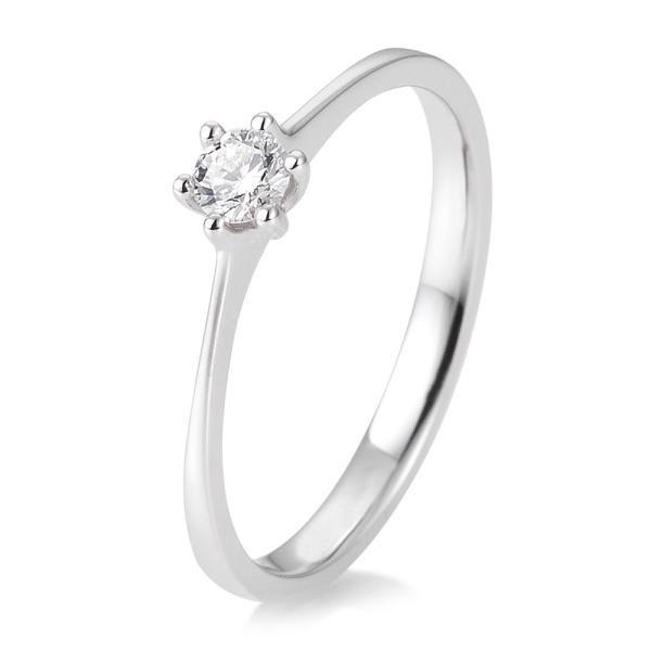Verlobungsring Solitär Weißgold 41/82143 - Diamantring