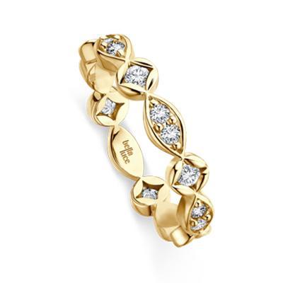 bella luce Verlobungsring Aurora Gelbgold 585 EH001593