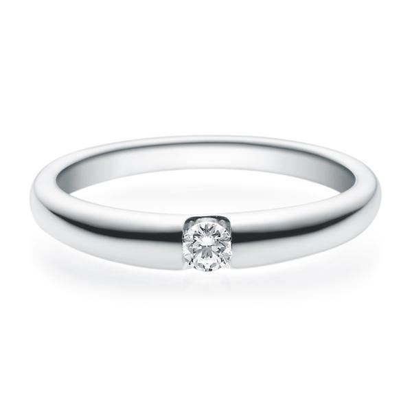 Rubin Verlobungsring 18005 Silber 925 Solitär Ring 0.100 ct.