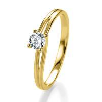 Breuning Bridal Antragsring Gelbgold 41/05307