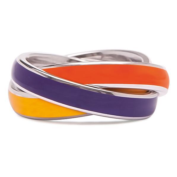 Quinn 3-in-1 Ring, gelb-lila-orange