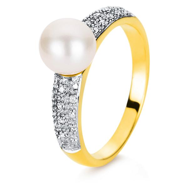 DiamondGroup Ring 18 kt Gelbgold - 1A018G858-1