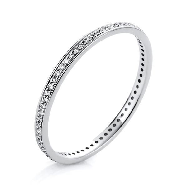 DiamondGroup Ring 14 kt Weißgold - 1A426W456-1