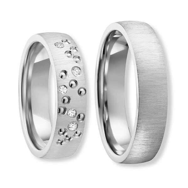 Freundschaftsringe Silber 925 Zirkonia Bedra 90059