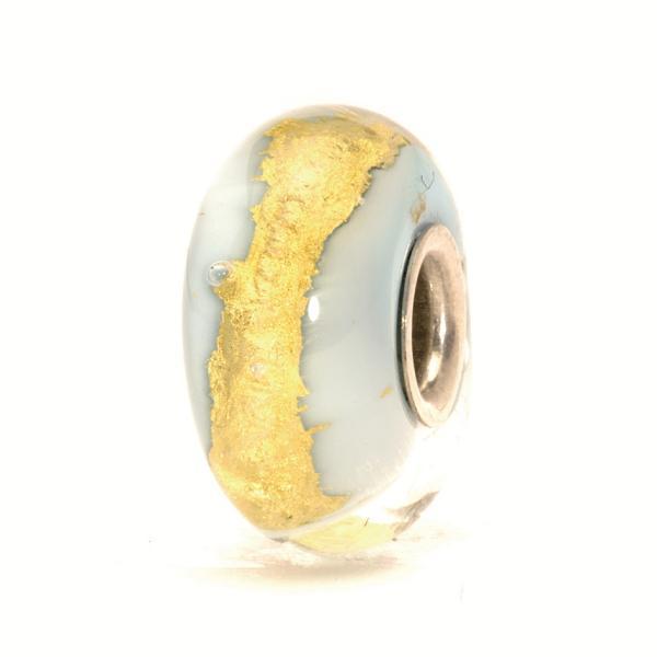 Trollbeads Hellblaues Gold TGLBE-20052, 62017