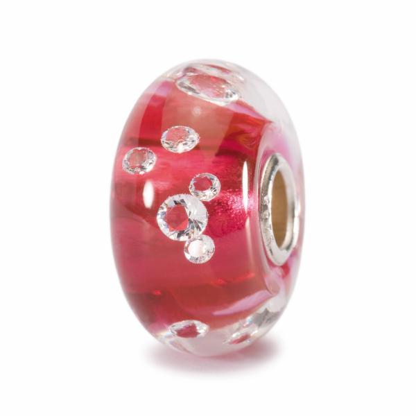 "Trollbeads 81006 ""Diamanten"" Bead Pink"