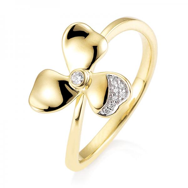 Breuning Ring Gelbgold Brillant 41/05905
