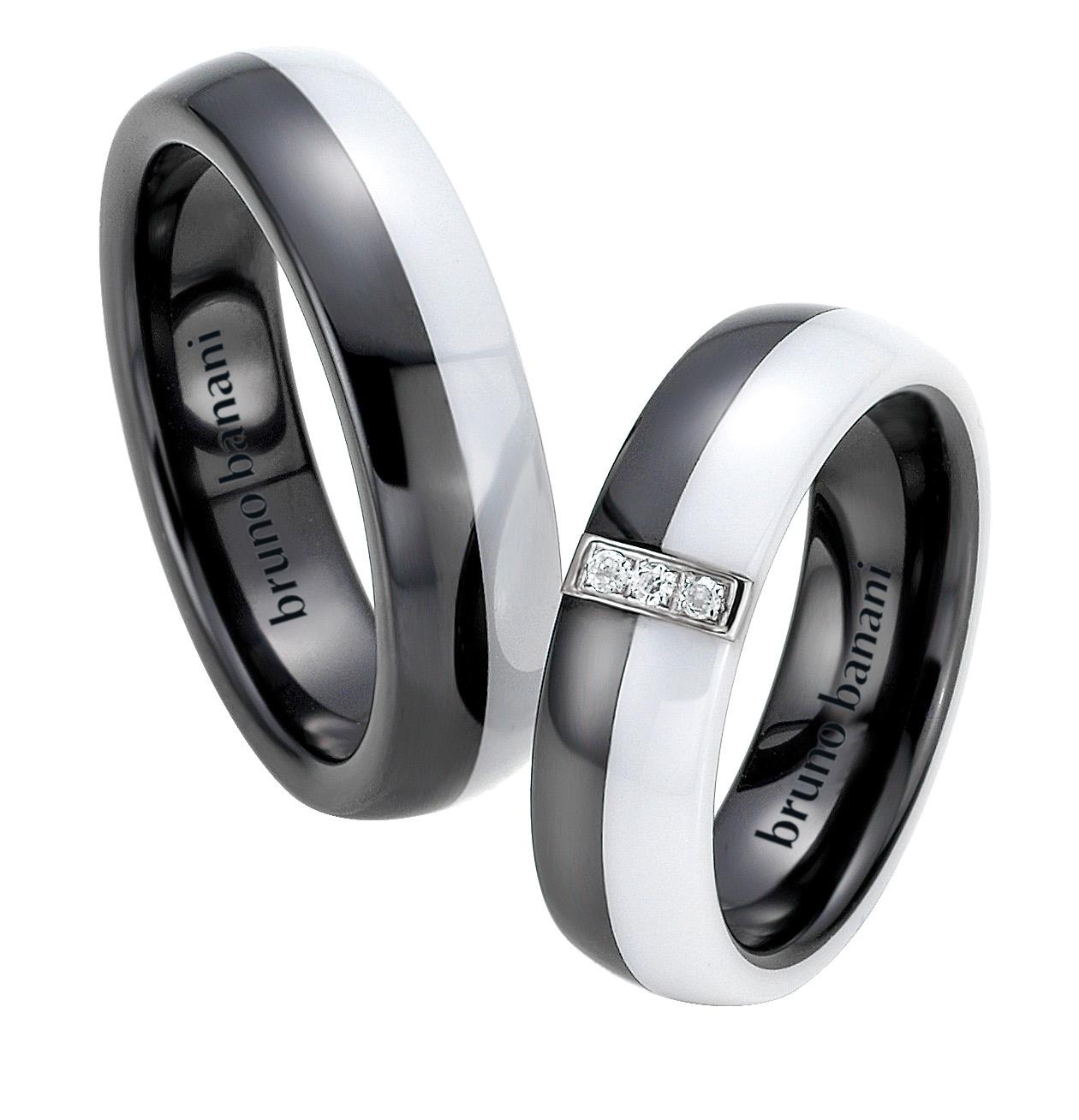 Bruno Banani Ceramic Ringe 44.84166 42.84166
