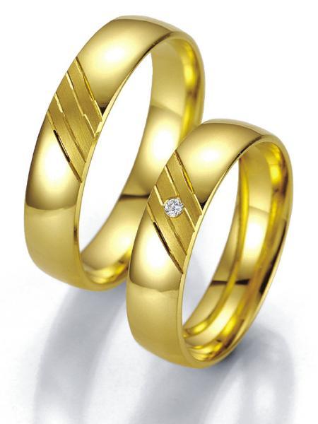 Breuning Trauringe Eheringe Gelbgold 07015 07016