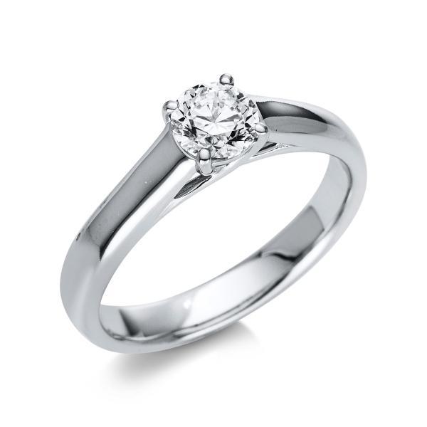 DiamondGroup Ring 4er-Krappe 14 kt Weißgold - 1K415W454-1
