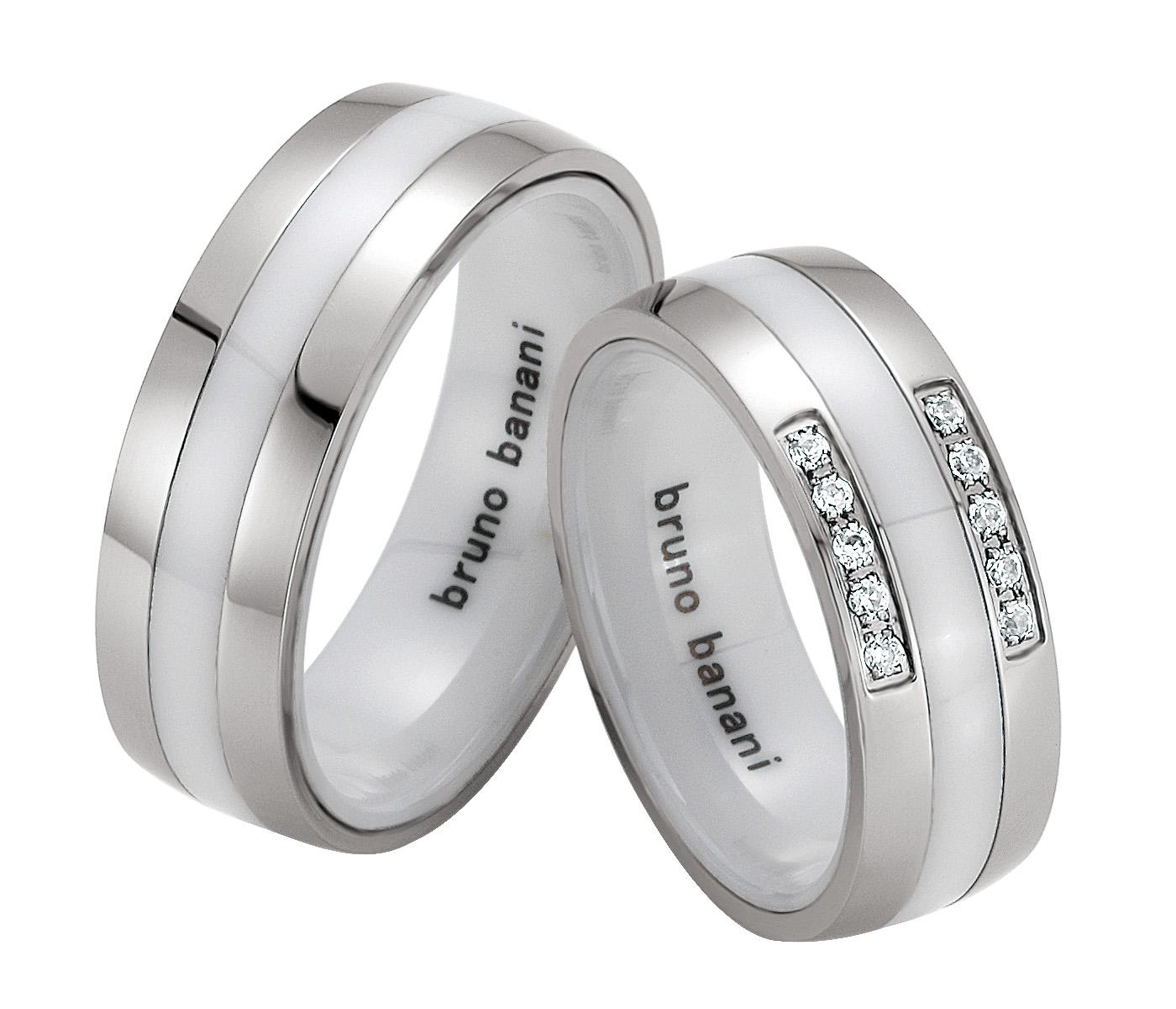 Bruno Banani Ceramic Ringe 44.84174 42.84174