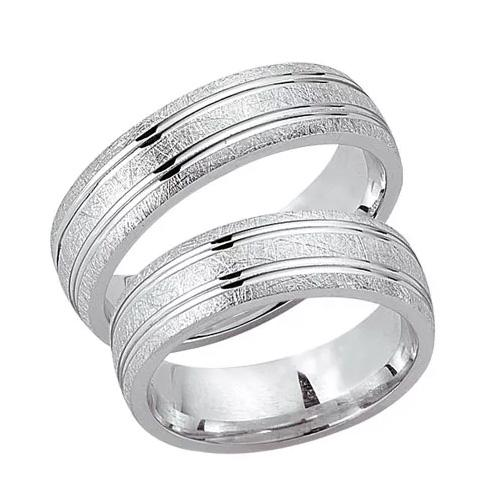 Schwarz Trauringe / Partnerringe Silber 925 SW925-013 Sterlingsilber kreismatt
