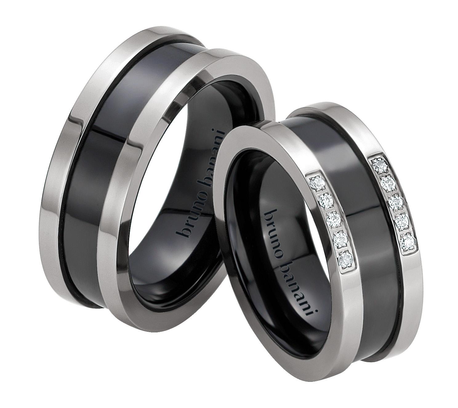 Bruno Banani Ceramic Ringe 44.84175 42.84175