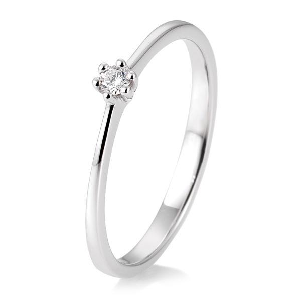 Breuning Solitärring Weißgold 41/85770 - Diamantring