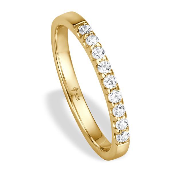 Giloy Vorsteckring / Memoire Ring Gelbgold TM02009G