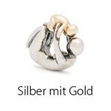 Silber mit Gold