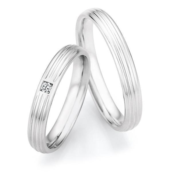 Eheringe Silber 925 Legends Ruesch 55/33010 & 55/33020