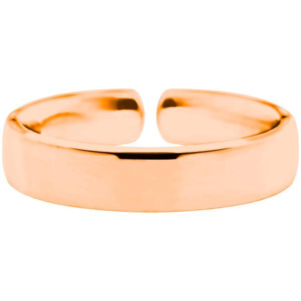 Quinn Einzelring Silberring rosevergoldet, Rose-marry