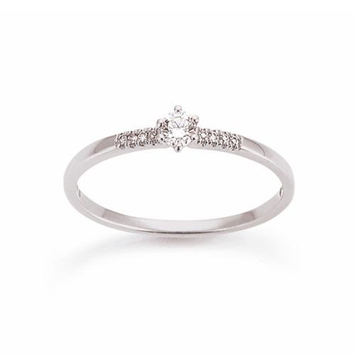 Palido First Love Ring Weißgold 585 Brillant K11658W