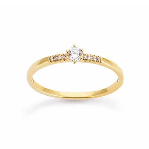 Palido First Love Ring Gelbgold 585 Brillant K11658W