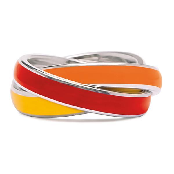 Quinn 3-in-1 Ring, gelb-rot-orange